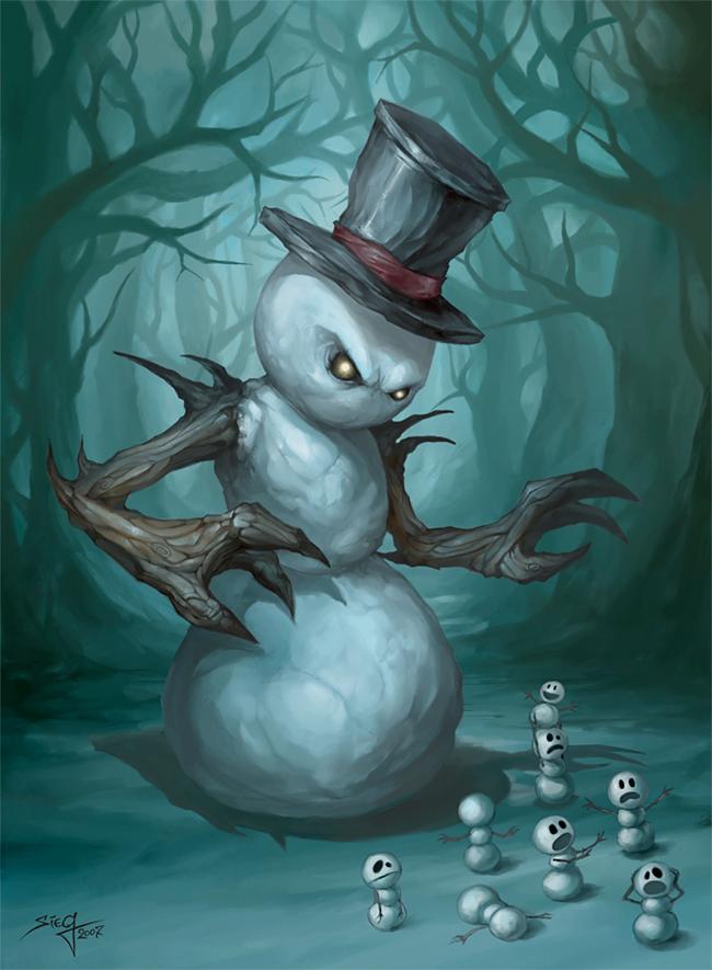 Snowman - Zeeksie