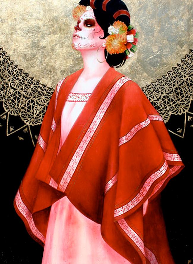 Sylvia Ji - Red Serape