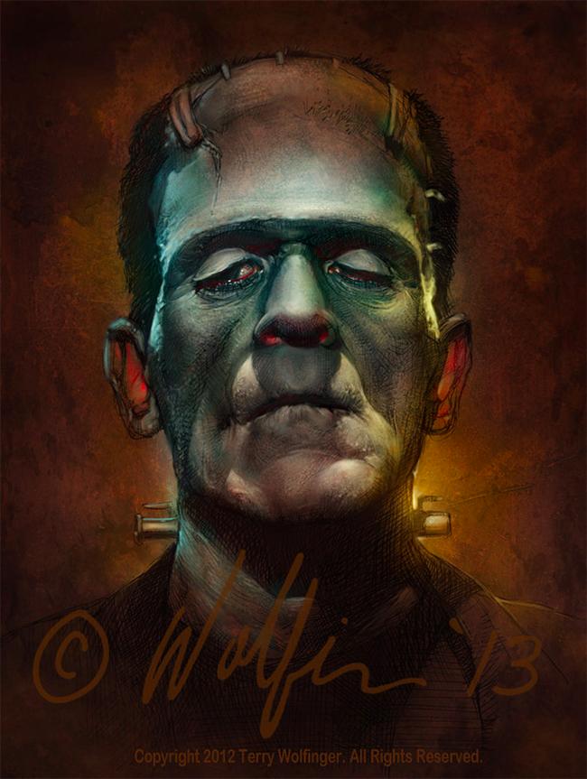 Terry Wolfinger - Frankenstein
