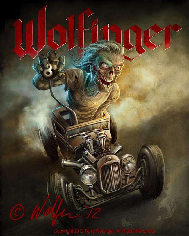 Terry Wolfinger - Zombie Rod