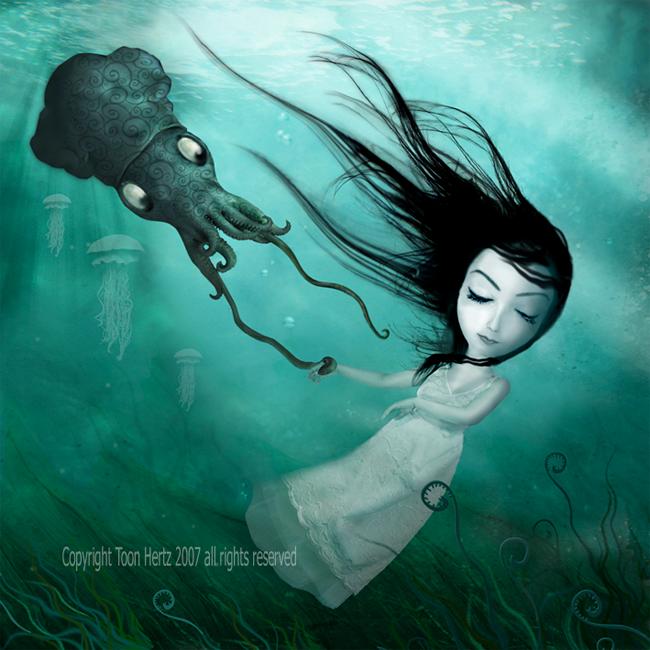 Toon Hertz - The Drowning Girl