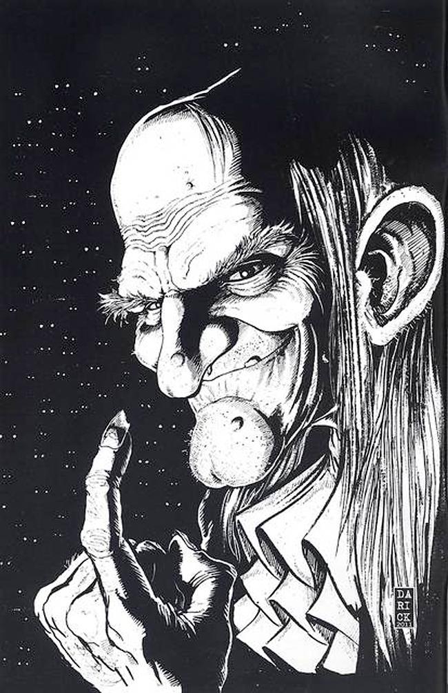 Uncle Creepy - Darick Robertson