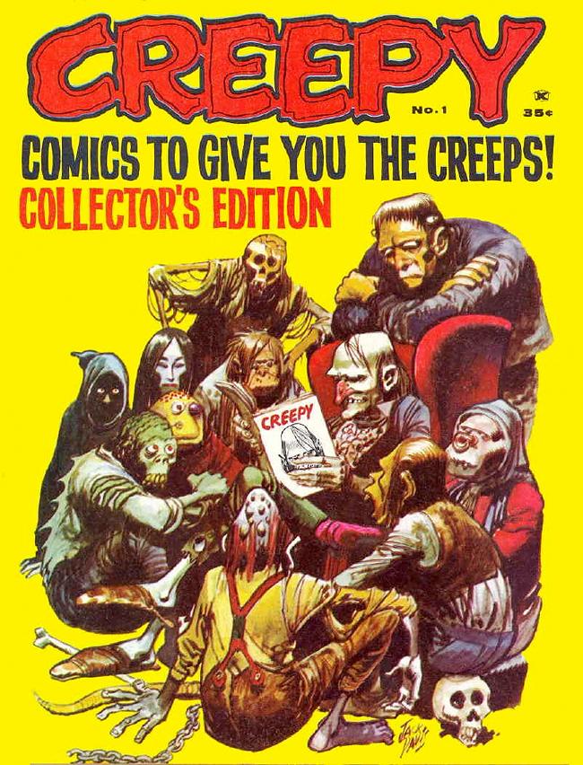 Uncle Creepy - Jack Davis
