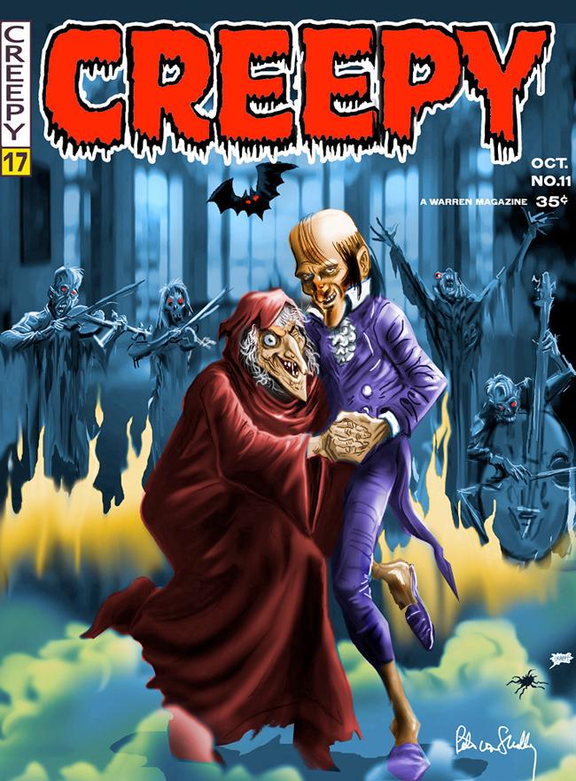 Uncle Creepy - Pete Von Sholly