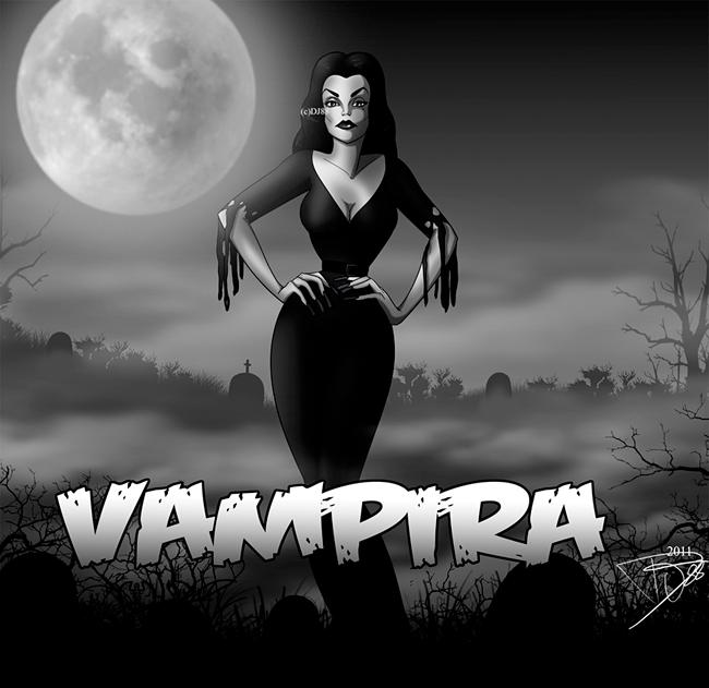 Vampira - Chainsaw Lipstick