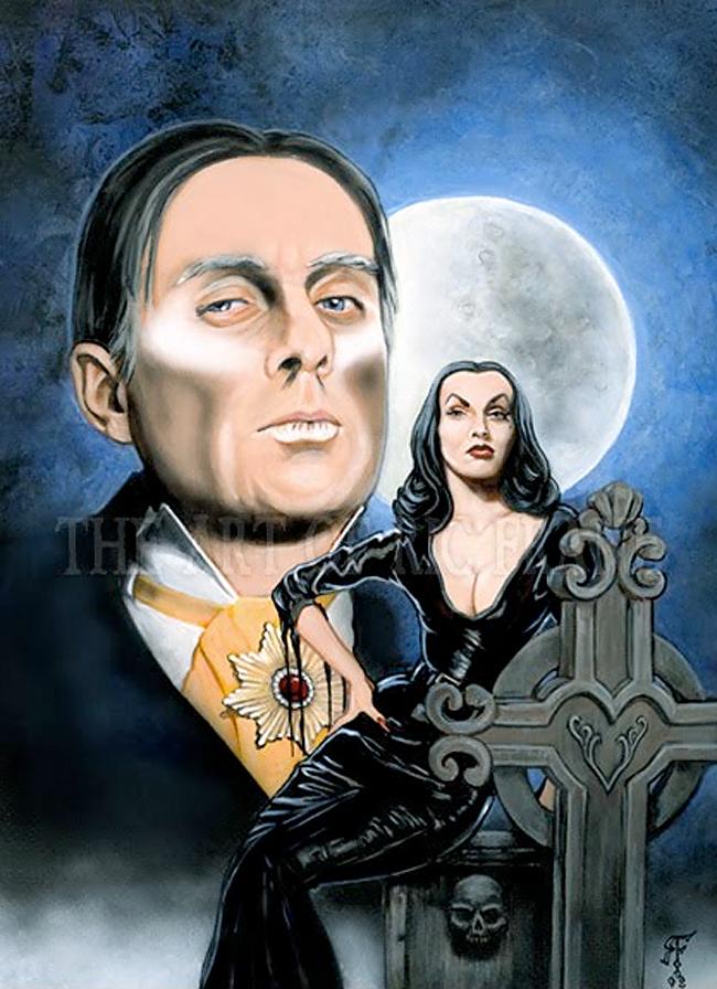 Vampira - Frank Frazetta