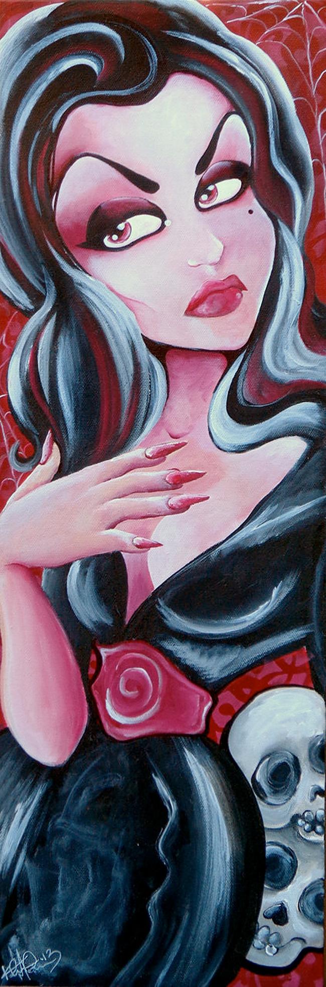 Vampira - Kreepshow Art