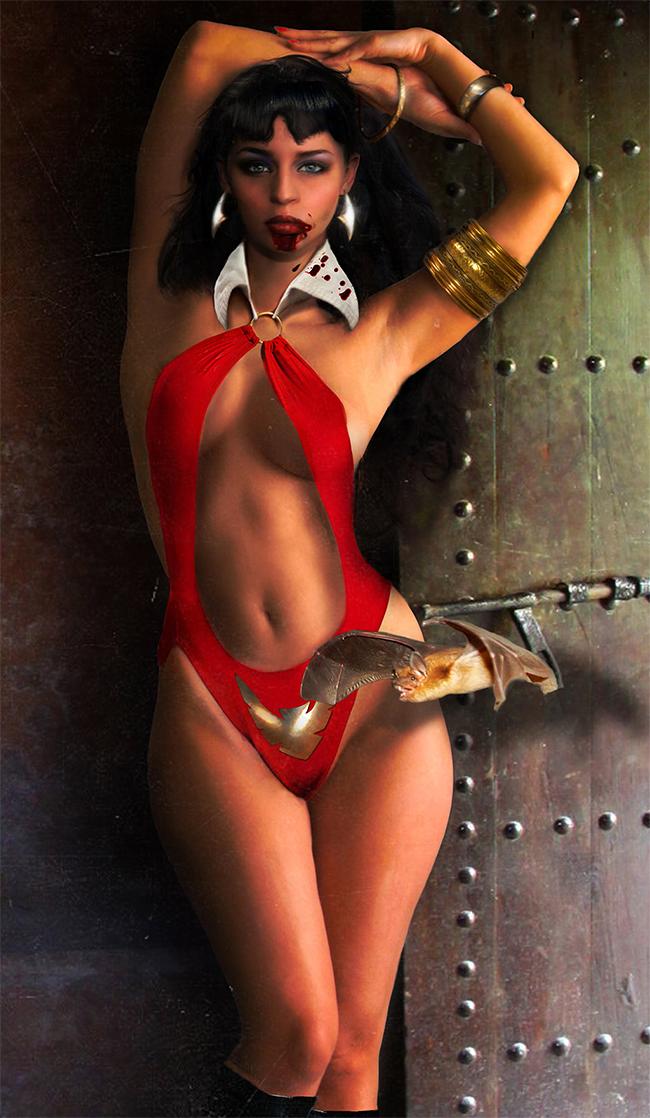 Vampirella - Carlotta Champagne