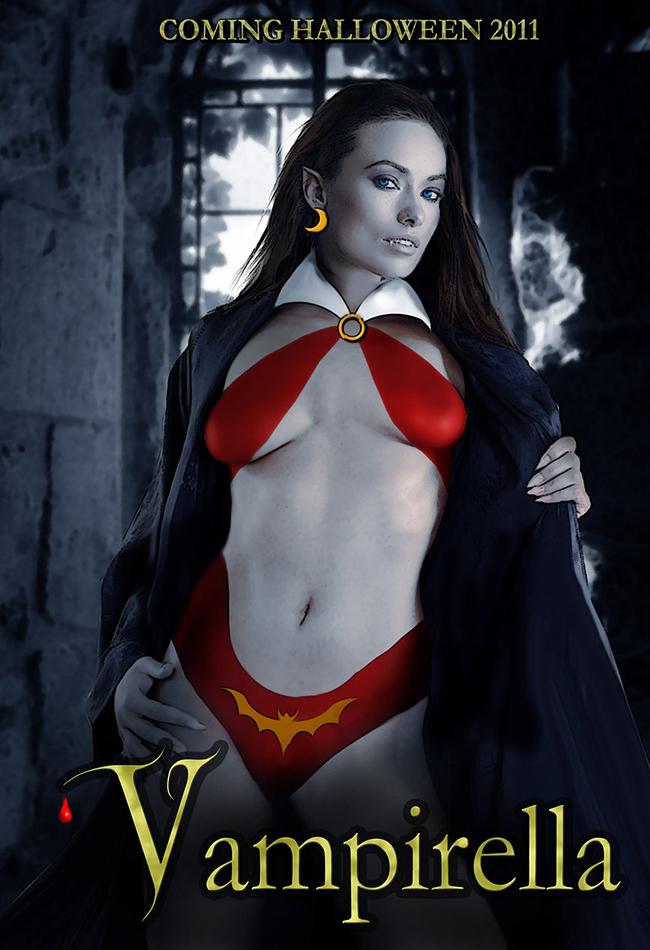 Vampirella - David MacDowell Blue
