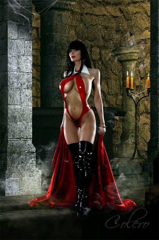 Vampirella - Marie-Claude Bourbonnais