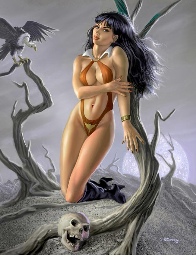 Vampirella - Alan Gutierrez