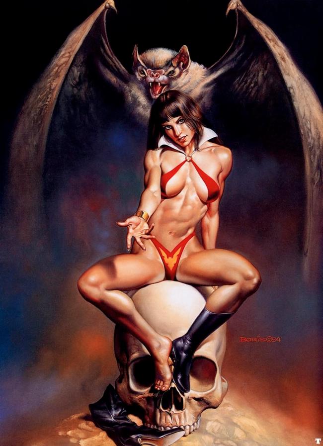 Vampirella - Boris Vallejo
