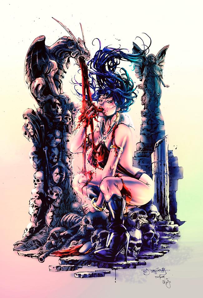 Vampirella - Casey Gallant