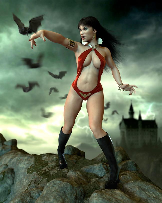 Vampirella - Daniel Moreno Diaz