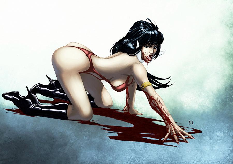 Vampirella - Keu Cha
