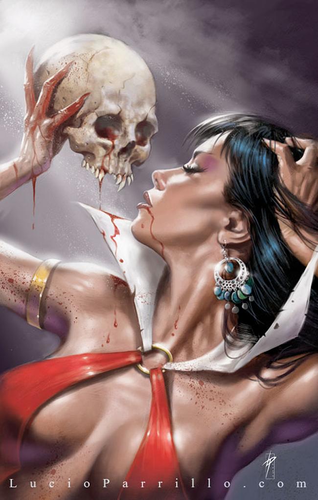 Vampirella - Lucio Parrillo