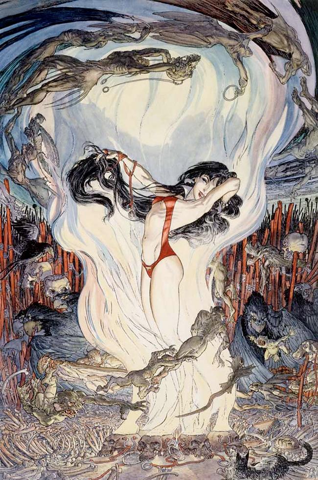 Vampirella - Michael Kaluta