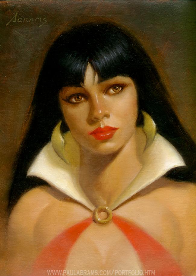 Vampirella - Paul Abrams