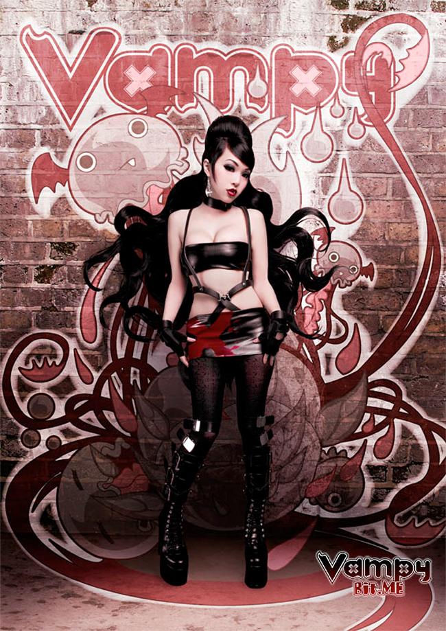 Vampy Linda Le - Vampy