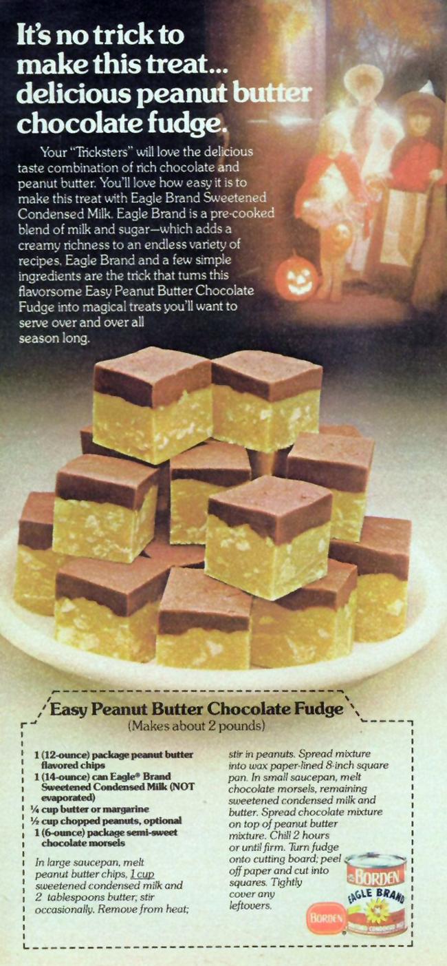 Vintage Halloween Ad - Borden
