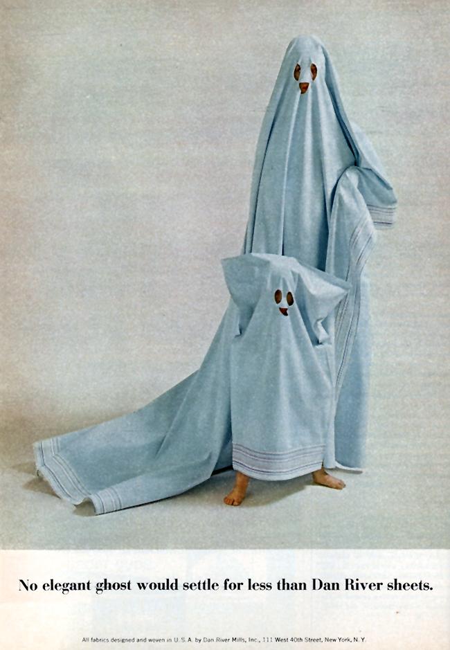 Vintage Halloween Ad - Dan River