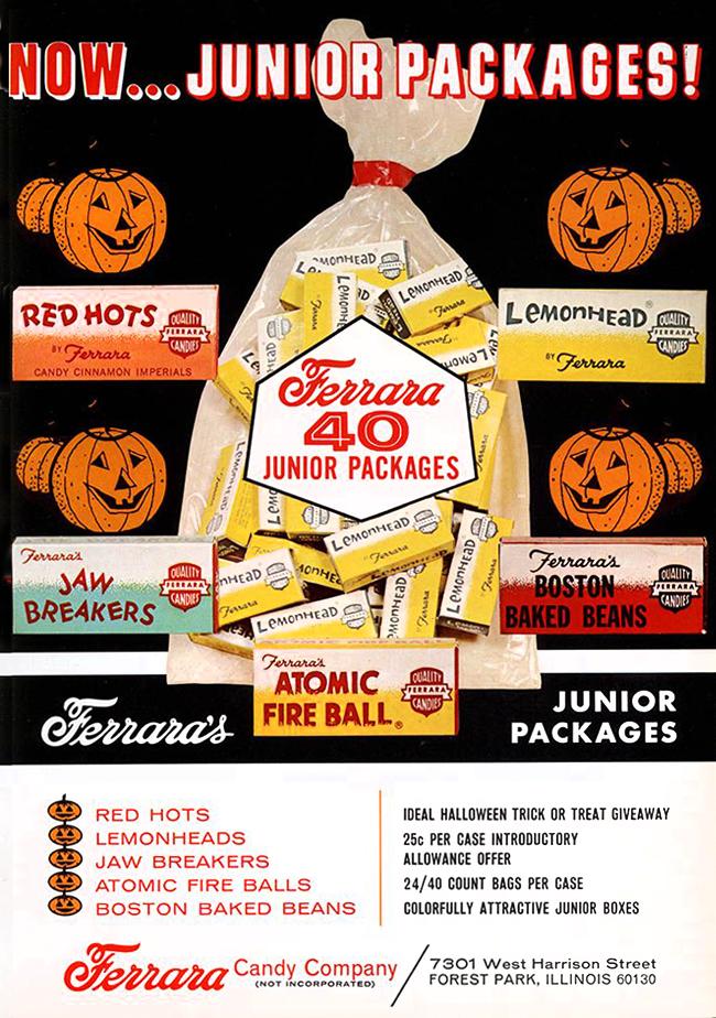 Vintage Halloween Ad - Ferrara
