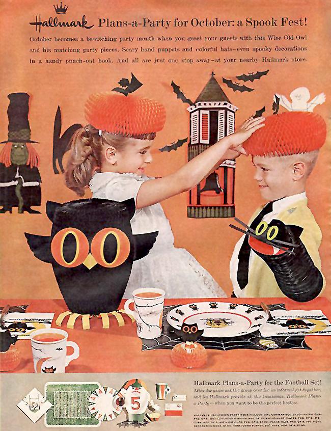 Vintage Halloween Ad - Hallmark