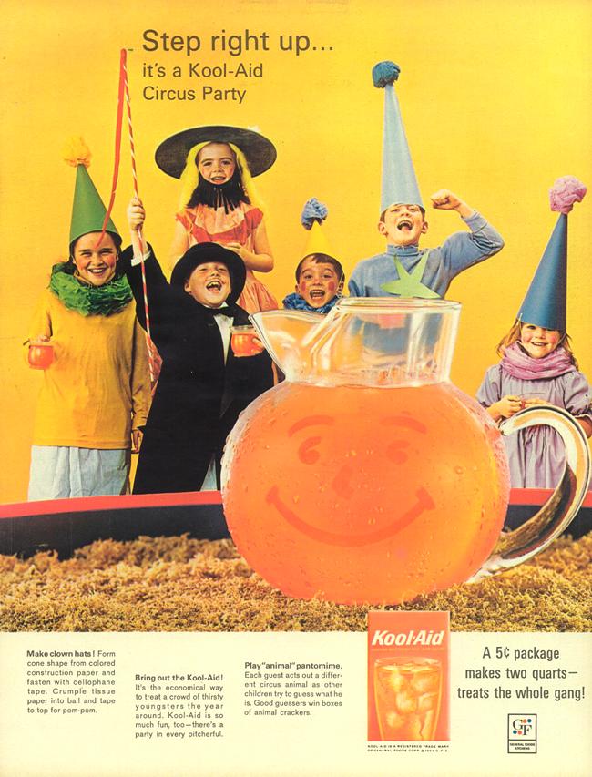 Vintage Halloween Ad - Kool Aid