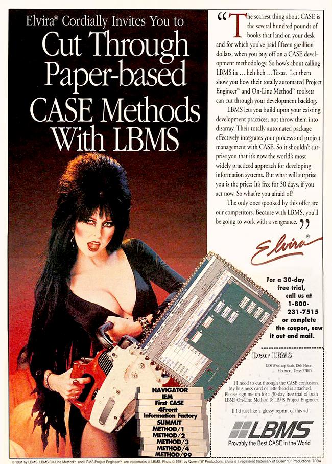 Vintage Halloween Ad - LBMS