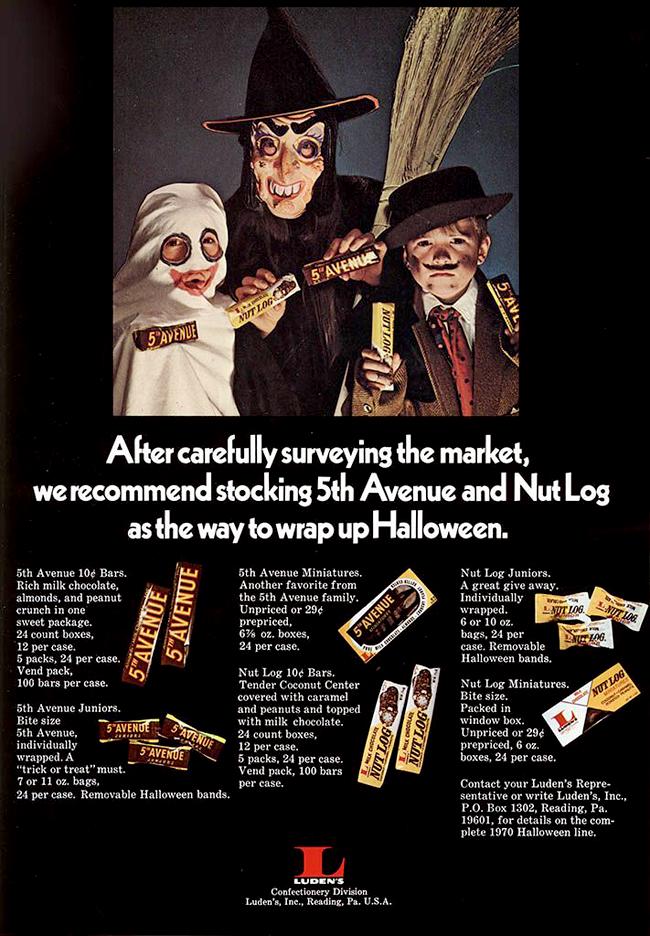 Vintage Halloween Ad - Ludens