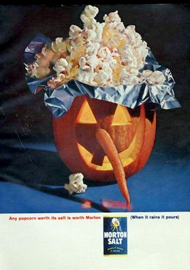 Vintage Halloween Ad - Morton Salt