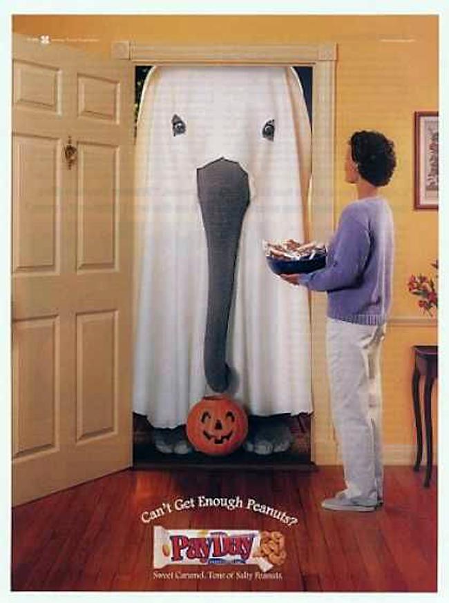 Vintage Halloween Ad - Payday