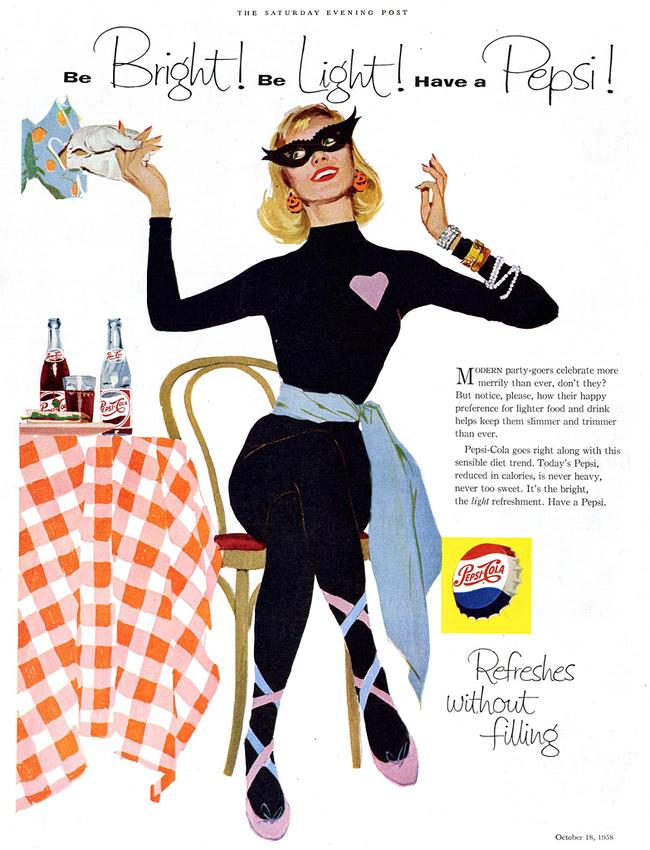 Vintage Halloween Ad - Pepsi