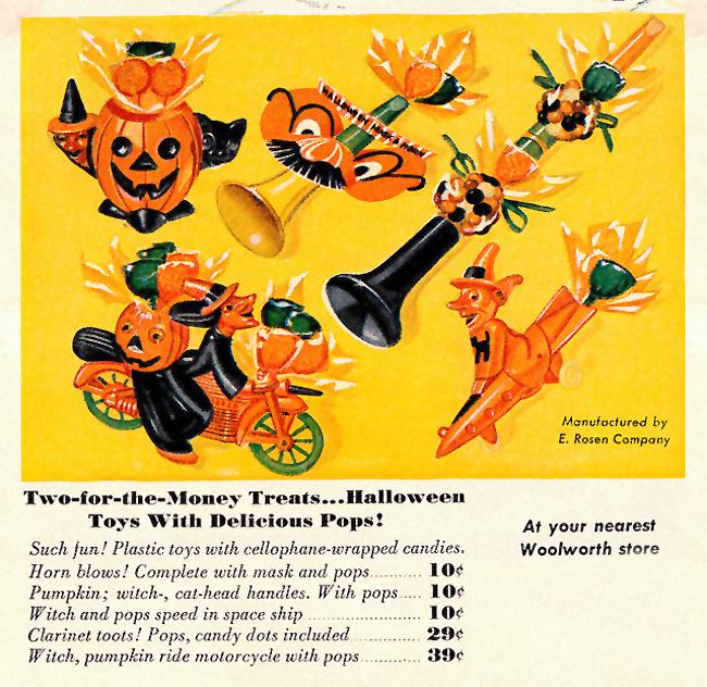 Vintage Halloween Ad - Woolworth