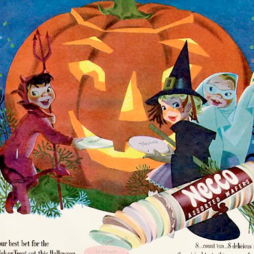 Vintage Halloween Advertisements Pt. II