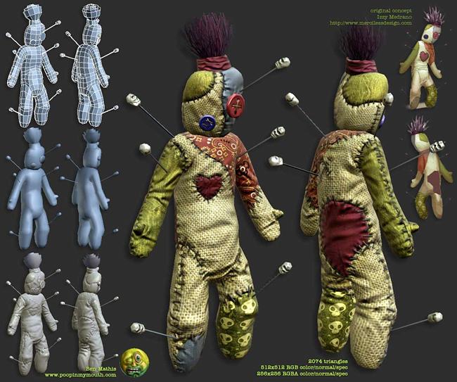 Voodoo Doll - Ben Mathis