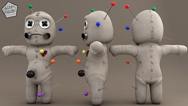 Voodoo Doll - Shaun Keenan