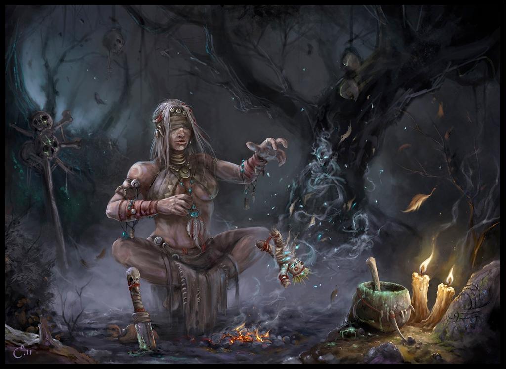 Voodoo Witch Doctor - Alexander Kozachenko