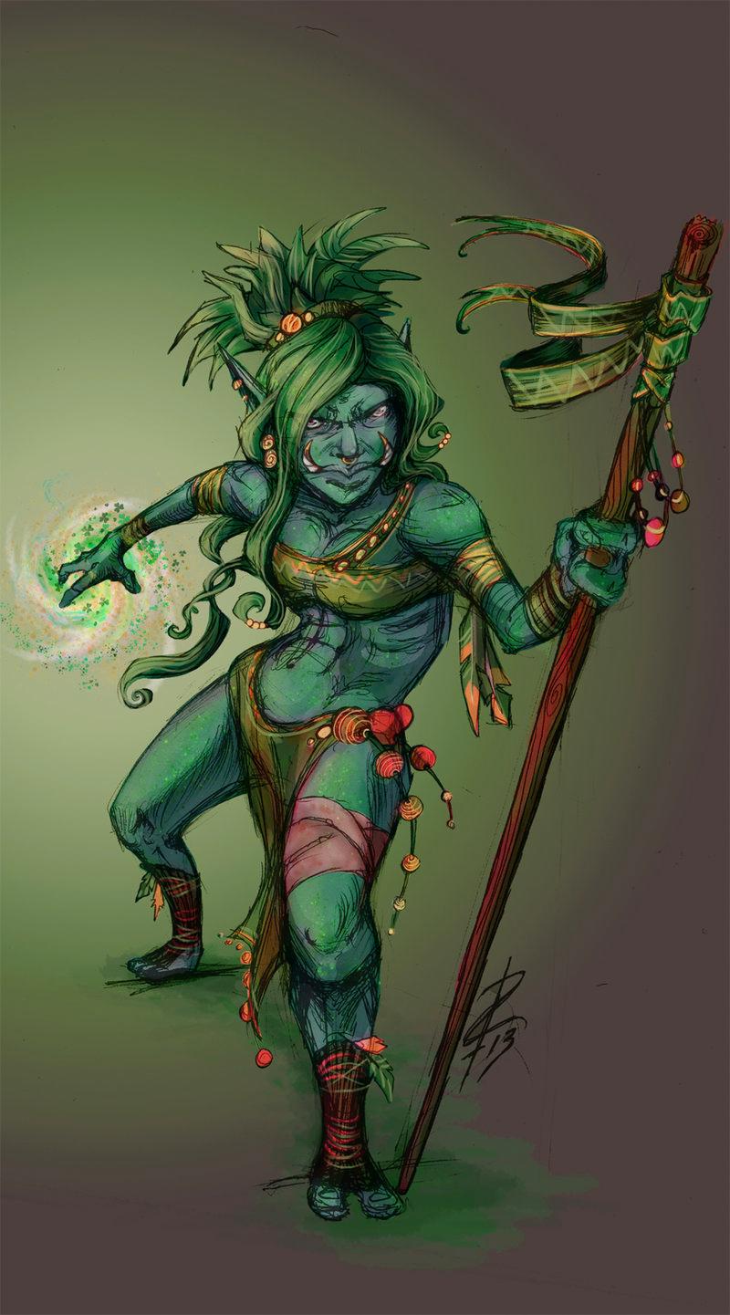Voodoo Witch Doctor - Carolin Sajur Piotrowski