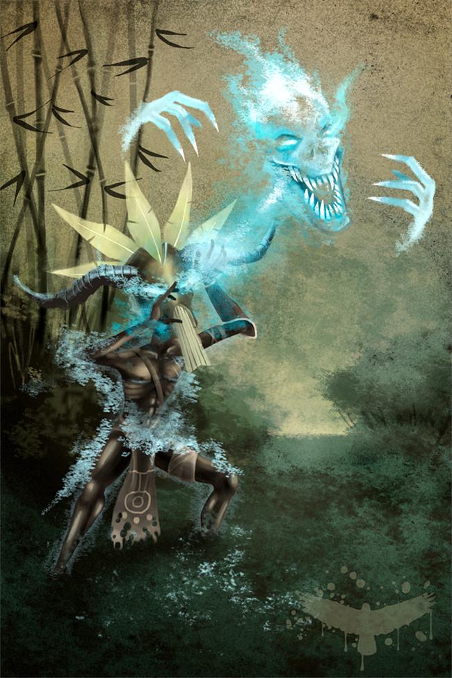 Voodoo Witch Doctor - Eluviel