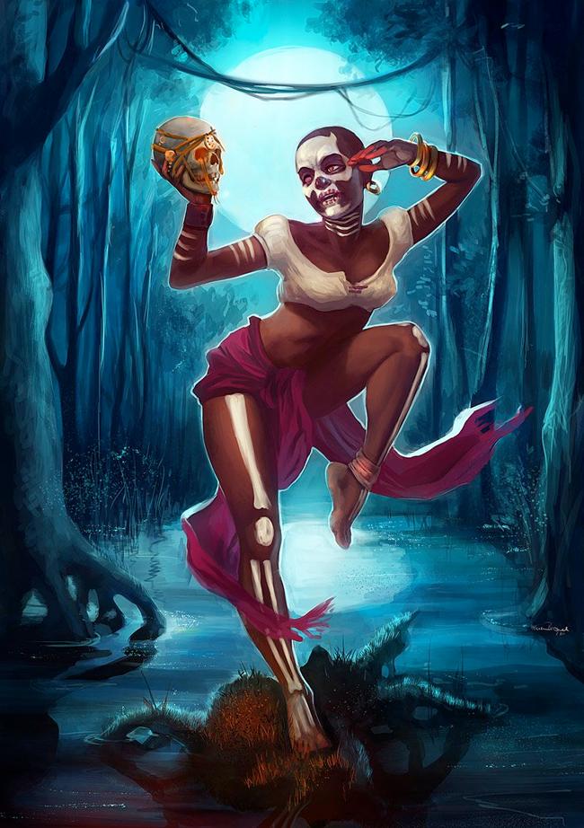 Voodoo Witch Doctor - Engelszorn