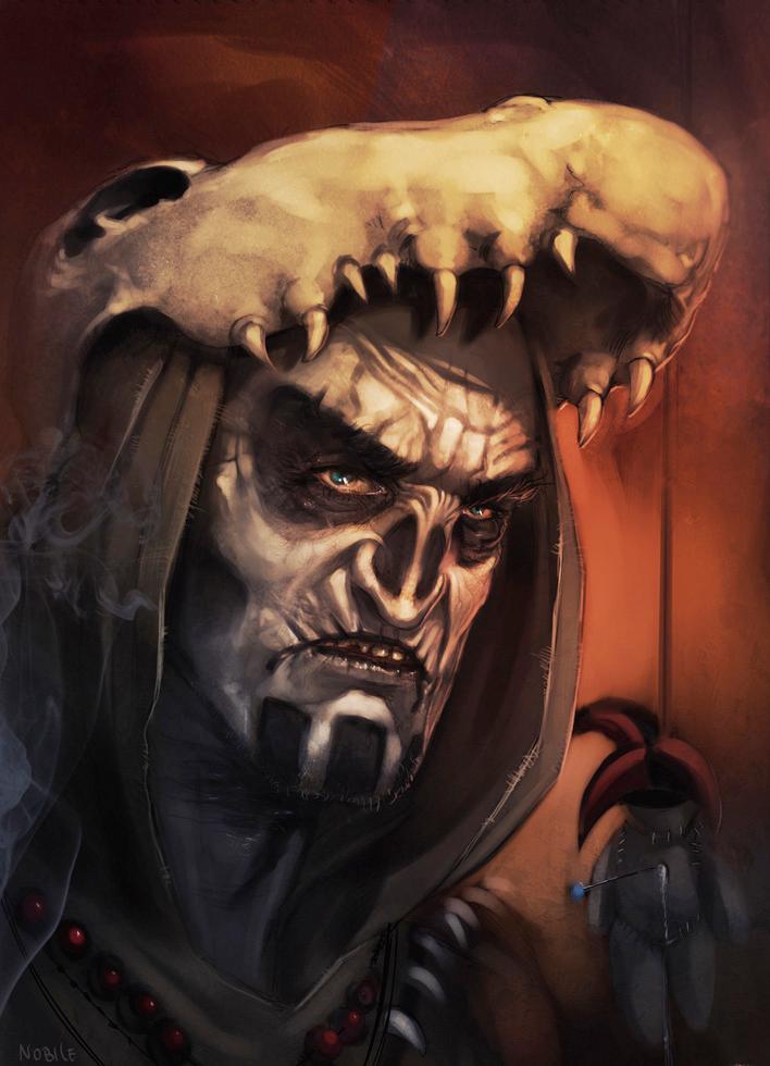 Voodoo Witch Doctor - German Nobile