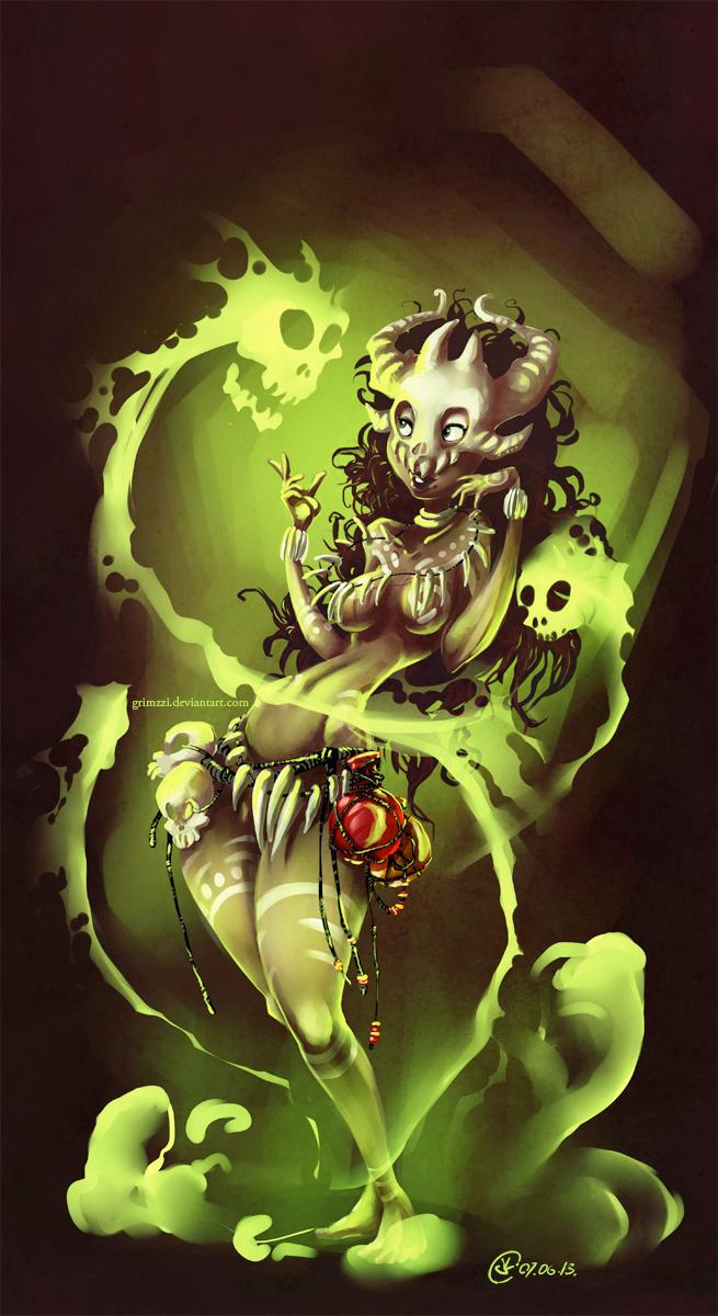 Voodoo Witch Doctor - Grimzzi