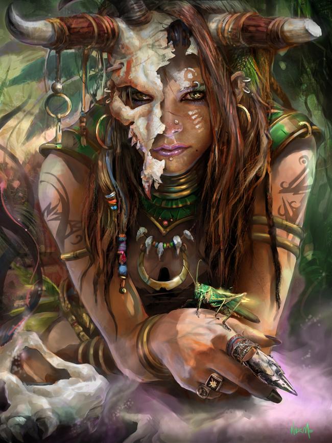 Voodoo Witch Doctor - Nizm