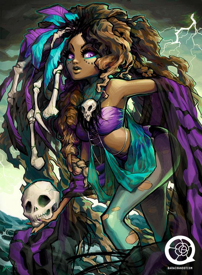 Voodoo Witch Doctor - Rose Besch