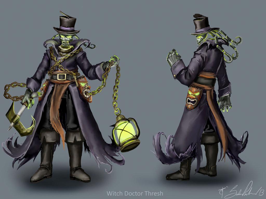 Voodoo Witch Doctor - Sedona Parnham