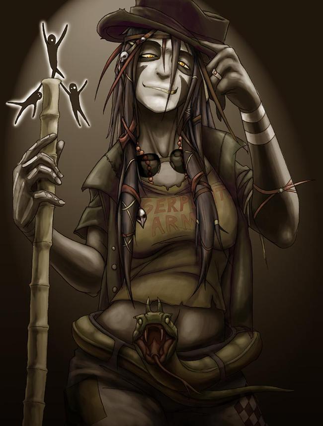 Voodoo Witch Doctor - VanHeist