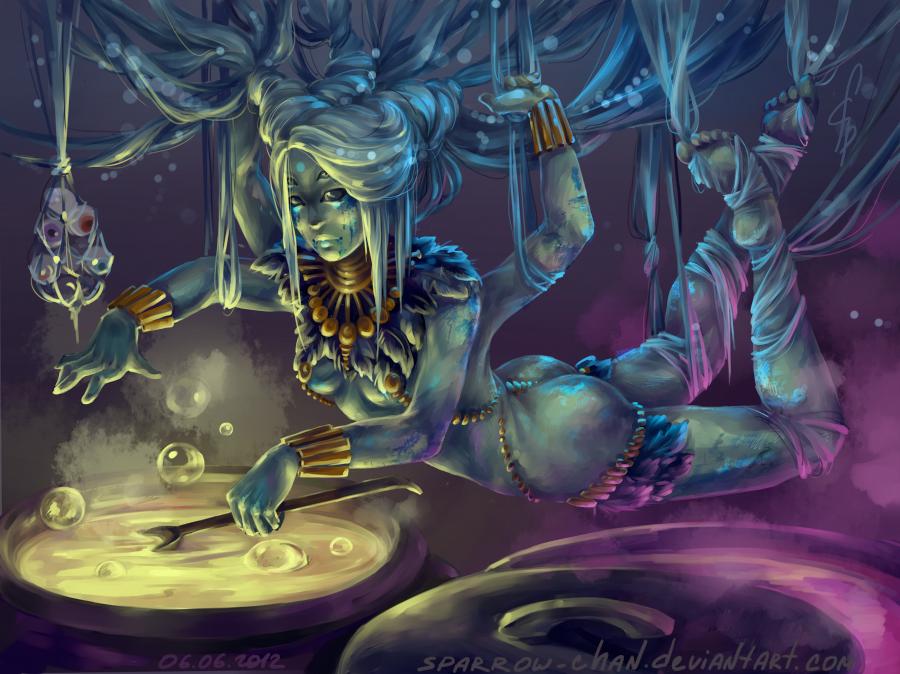 Voodoo Witch Doctor - Yartseva Marya