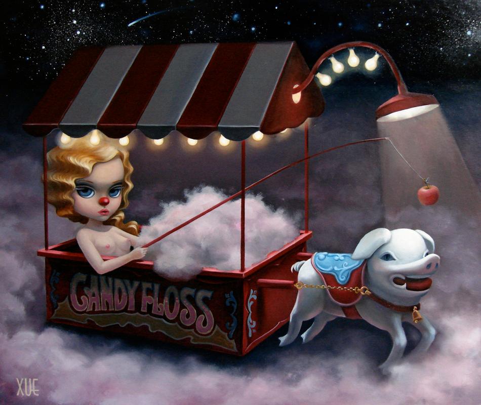 Xue Wang - Candy Floss and Moonbeam