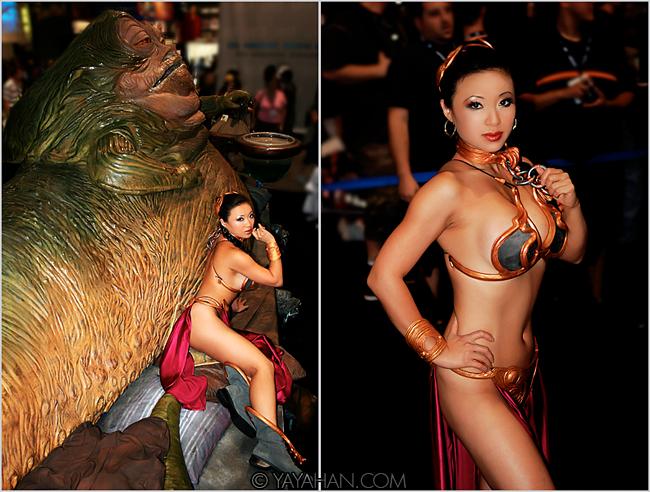 Yaya Han - Slave Leia